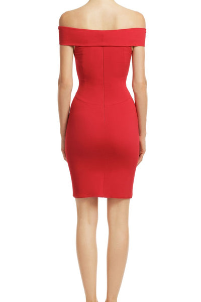 red-bodycon-cocktail-dress-with-off-the-shoulder-band-1