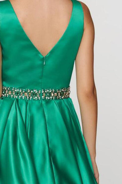 red-short-homecoming-dresses-with-jeweled-waist-2