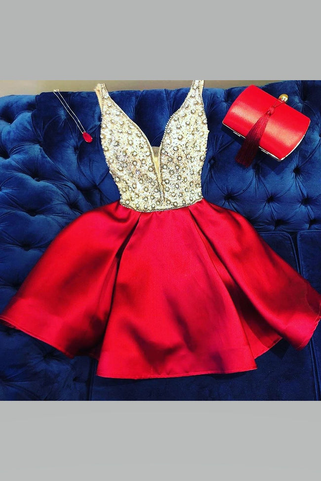 rhinestones-and-beaded-homecoming-dresses-with-satin-skirt-1