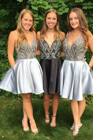 rhinestones-bodice-satin-short-homecoming-party-gown-with-double-straps-2