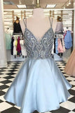 rhinestones-bodice-satin-short-homecoming-party-gown-with-double-straps