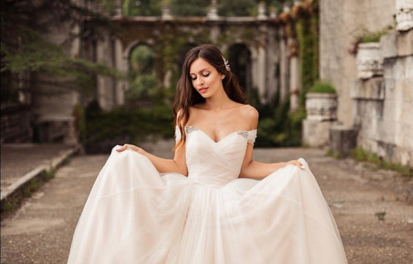 rhinestones-off-the-shoulder-tulle-bridal-gown-with-ruching-bodice-2