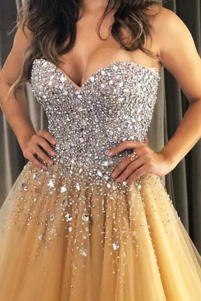 rhinestones-sweetheart-champagne-prom-dress-tulle-skirt-1