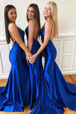 royal-blue-bridesmaid-long-wedding-guests-dresses-with-v-neckline-1
