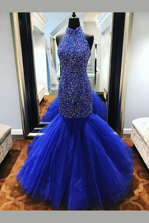 b930e8d6825 loveangeldress Scoop Neck Lace Tulle Red Ball Gowns Long Sleeved Evening  Dresses.  288.99.  498.00. SALE. royal-blue-rhinestones-prom-dress-mermaid- tulle- ...