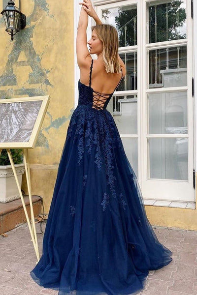 royal-blue-tulle-appliques-prom-dresses-with-double-straps-1