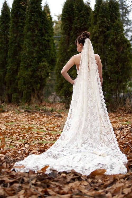 royal-lace-wedding-veil-with-narrow-appliqued-trim