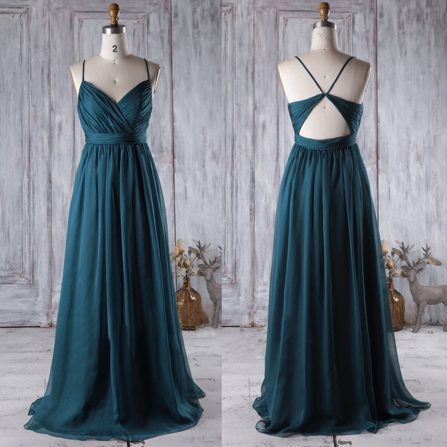 ruched-chiffon-bridesmaid-dresses-online-long-wedding-party-gowns-1