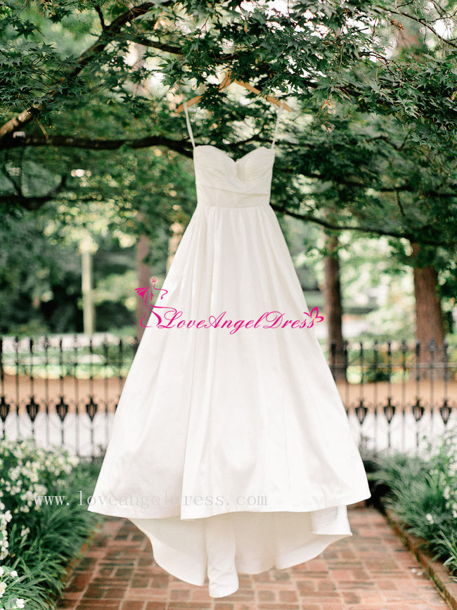 simple-satin-bridal-gowns-with-chapel-train