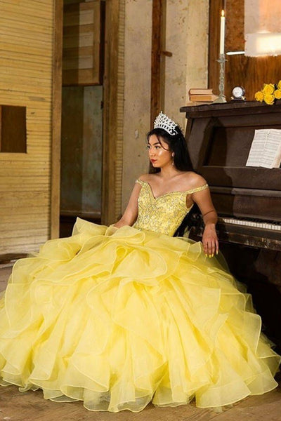 ruffled-organza-yellow-quinceanera-dress-ball-gown-rhinestones-off-the-shoulder-bodice-1
