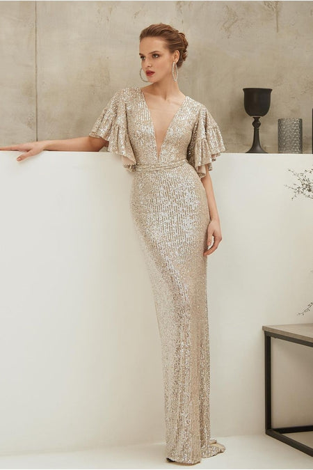 A-line Satin Wedding Dresses with Beaded Neckline
