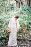 rustic-simple-fingertip-ivory-wedding-veil-cut-edge-2