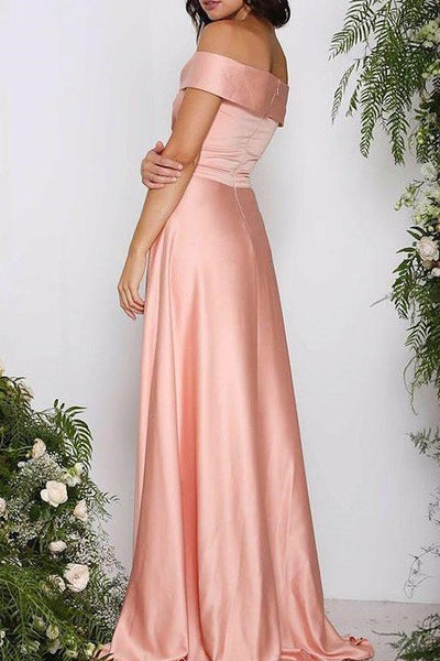 satin-long-pink-bridesmaid-dress-with-off-the-shoulder-1