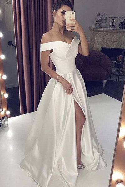 satin-simple-wedding-gown-dress-with-off-the-shoulder