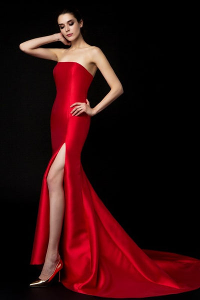satin-strapless-red-evening-gown-mermaid-style-2