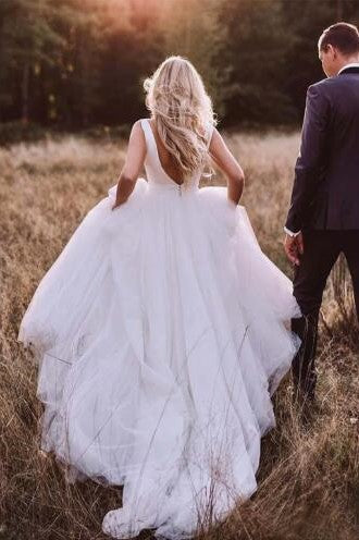 satin-tulle-sleeveless-rustic-wedding-dresses-with-bow-sash-1