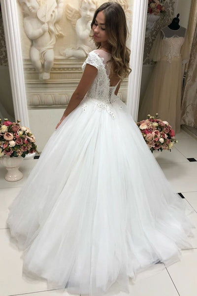 see-through-neckline-tulle-lace-wedding-dresses-with-sleeves-1