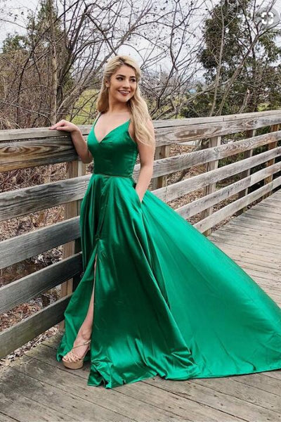 sexy-open-back-green-prom-party-dress-with-slit-side-3