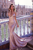 shimmering-sequins-mermaid-evening-dresses-with-double-straps