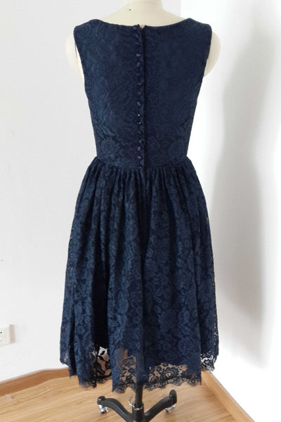 short-lace-navy-blue-bridesmaid-dresses-sleeveless-1