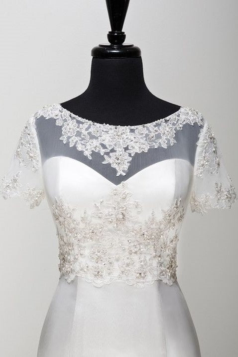 short-sleeves-bridal-wedding-jackets-bolero-with-beaded-lace