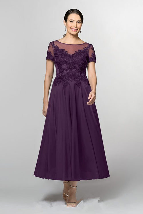 short-sleeves-grape-chiffon-mother-of-the-groom-dress-with-beaded-lace