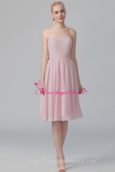 simple-a-line-strapless-chiffon-bridesmaid-dress-under-$100