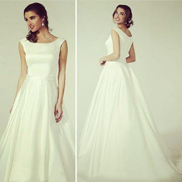 simple-and-sweet-satin-wedding-dress-with-buttons-down-1