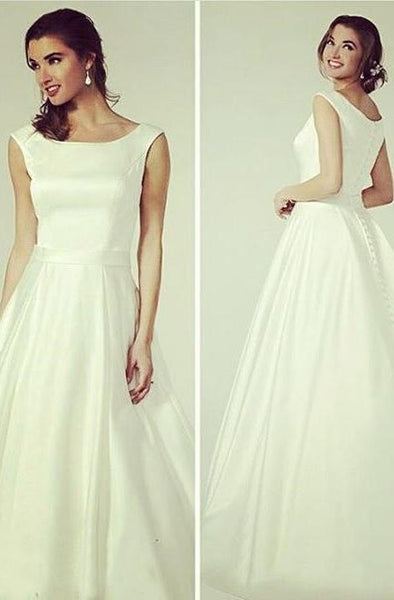 simple-and-sweet-satin-wedding-dress-with-buttons-down-2