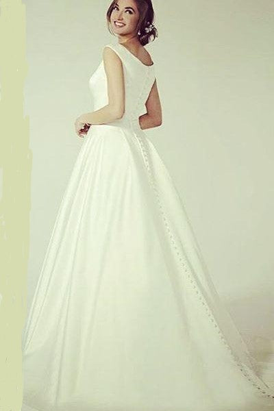 simple-and-sweet-satin-wedding-dress-with-buttons-down
