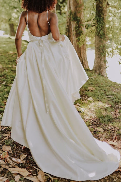 simple-satin-boho-wedding-dresses-with-ribbon-belt-1