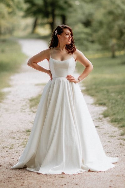 simple-satin-boho-wedding-dresses-with-ribbon-belt-2
