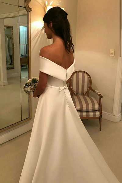 simple-satin-bridal-dress-with-fold-off-the-shoulder-1