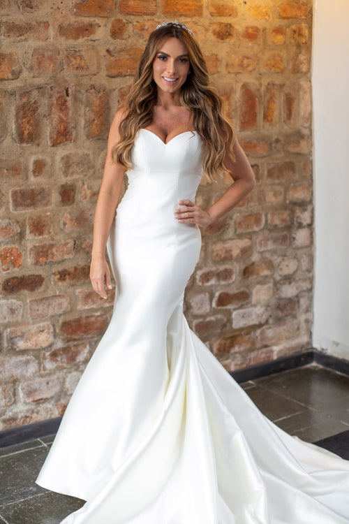simple-satin-mermaid-wedding-gown-vestido-de-casamento