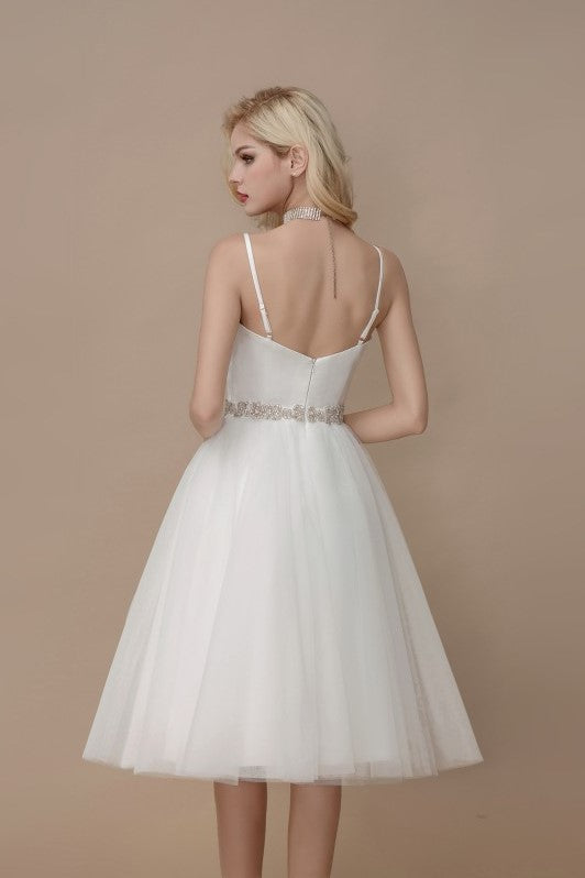 simply-short-informal-wedding-dress-spaghetti-straps-1