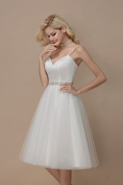 simply-short-informal-wedding-dress-spaghetti-straps-2