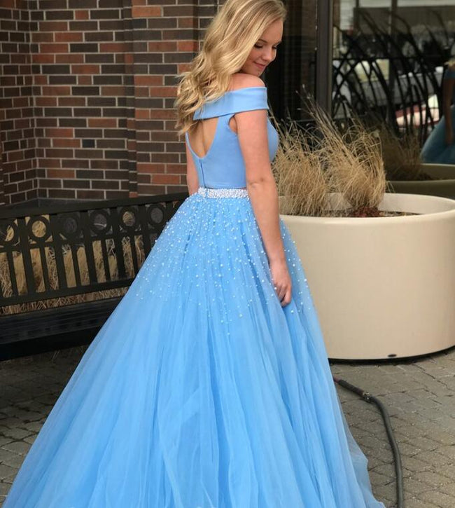 sky-blue-tulle-two-piece-prom-gown-with-pearls-skirt-1