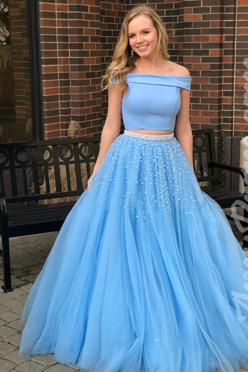 sky-blue-tulle-two-piece-prom-gown-with-pearls-skirt