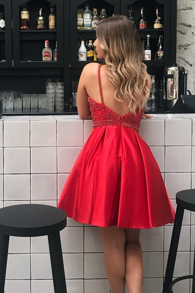 sleeveless-bead-red-homecoming-dress-satin-skirt-vestido-de-fiesta-1