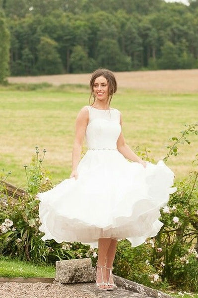 sleeveless-bride-short-casual-wedding-dress-with-beaded-belt-1