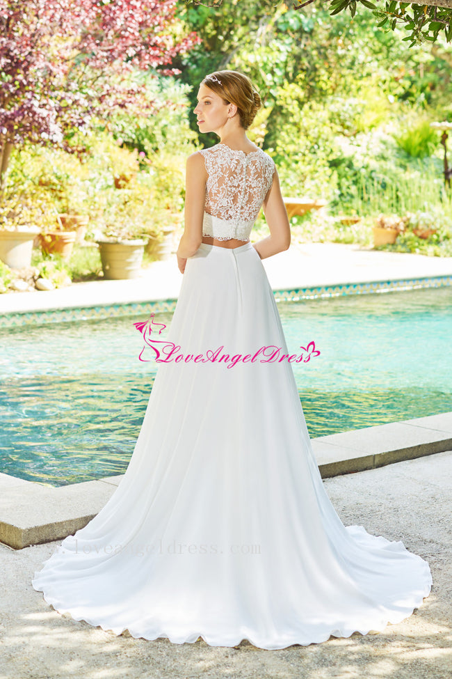 lace-two-piece-wedding-dresses