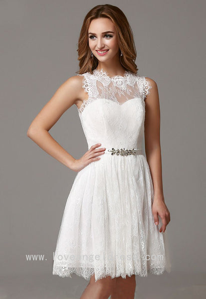 sleeveless-short-lace-little-white-dress-for-homecoming-party-2