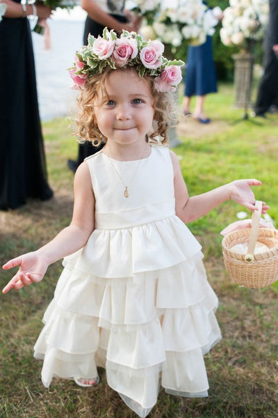 sleeveless-tiered-flower-girls-dresses-for-wedding-party