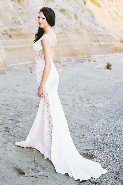 slim-backless-wedding-dresses-with-sheer-lace-bodice-2