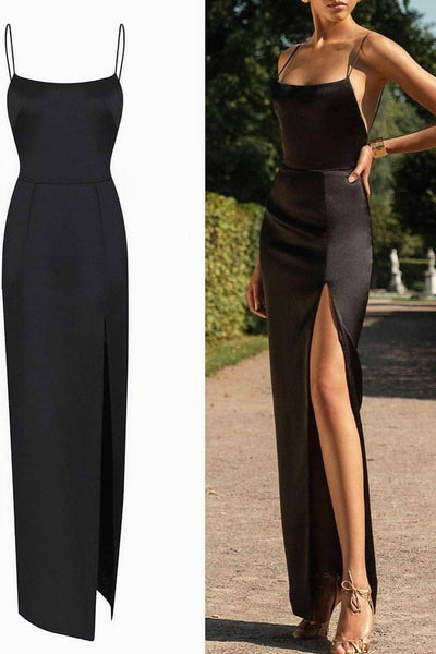 slim-black-long-prom-dress-high-slit-side-1