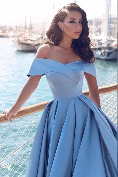 slit-side-blue-satin-prom-gown-with-fold-off-the-shoulder-2