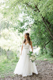 spaghetti-straps-v-neck-a-line-wedding-dress-with-crystals-belt-2