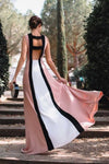 spandex-contrast-color-prom-evening-gown-with-slit-front-1