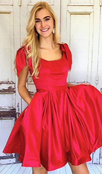 square-neck-red-homecoming-dresses-with-big-bows