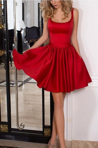 square-neck-satin-short-red-cocktail-dress-with-pockets
